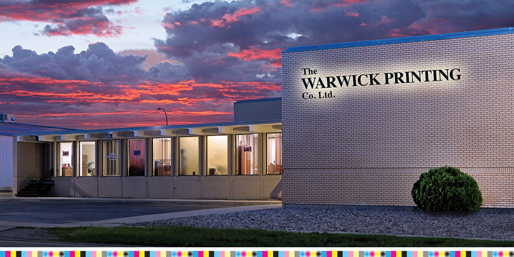 Warwick Printing Building - Full Colour